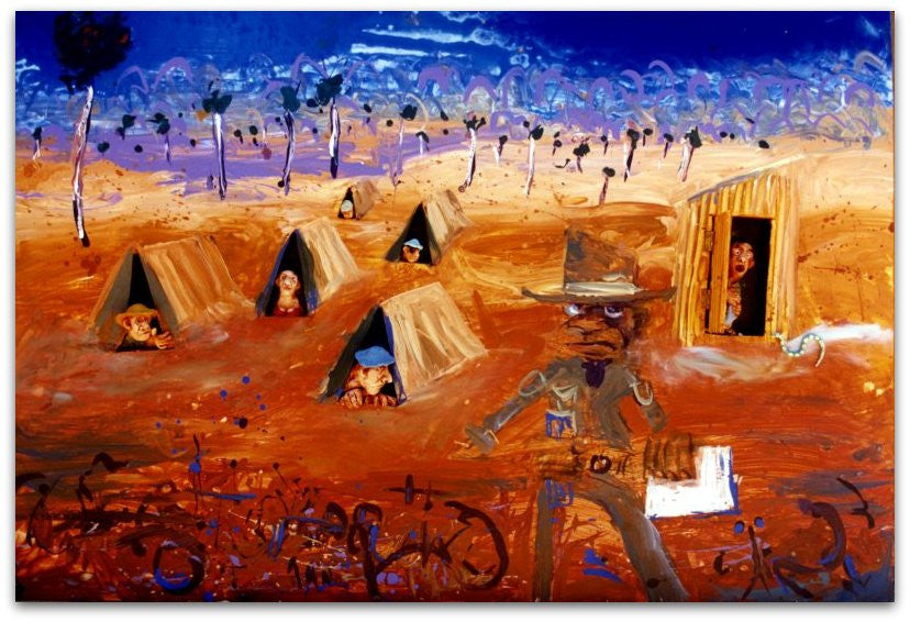1993 Norton's Heroes - Johnathan Smith - Fremantle Arts