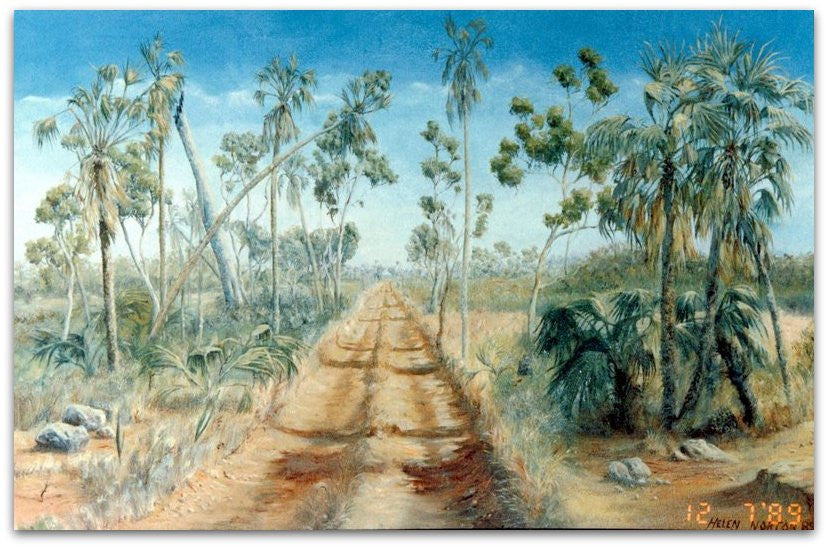 1989 - 1990 Early Works - Traditional Landscapes