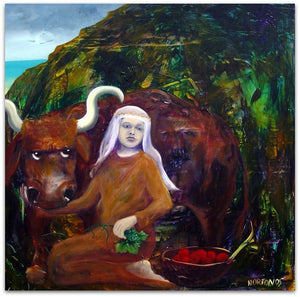 Ariadne and the Bull