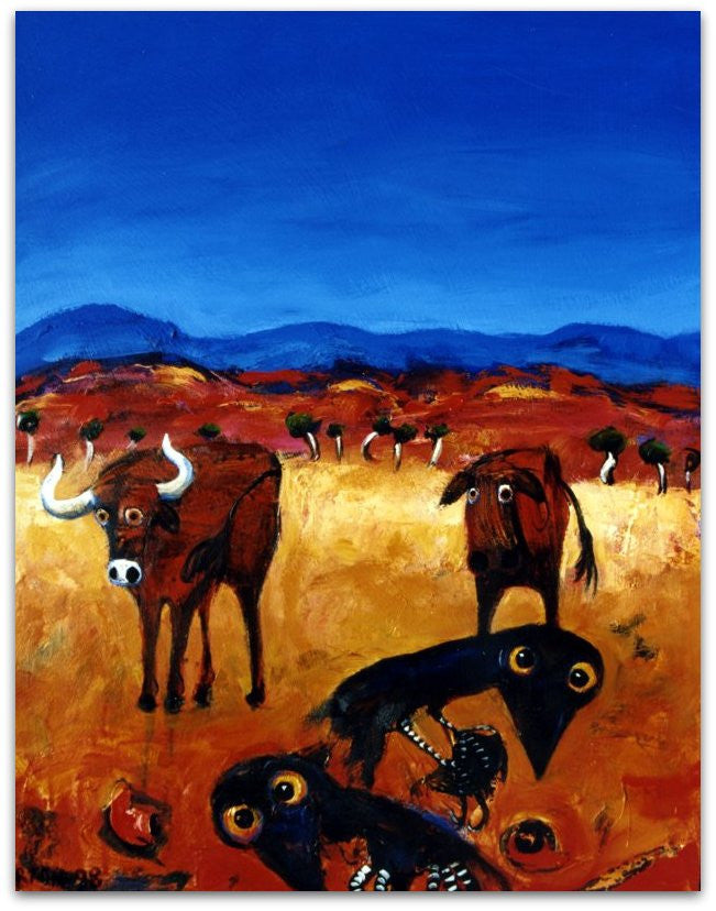 Cattle and Crows