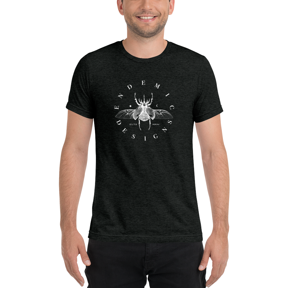 Men's Beetle Tee -  clothing to protect the Amazon rainforest