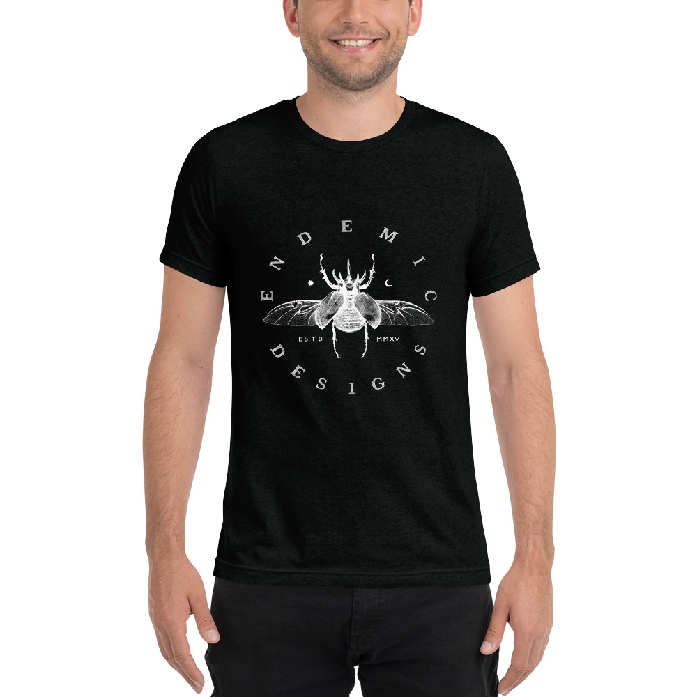 Beetle Unisex Tri-blend T-Shirt -  clothing to protect the Amazon rainforest
