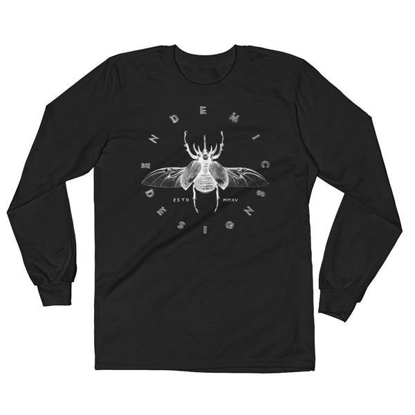 Rhino Beetle Long Sleeve T-Shirt -  clothing to protect the Amazon rainforest