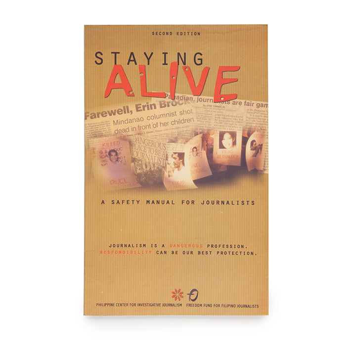 Staying Alive: A Safety Manual for Journalists