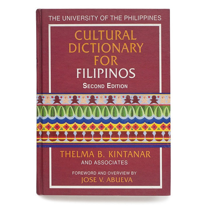 Cultural Dictionary for Filipinos