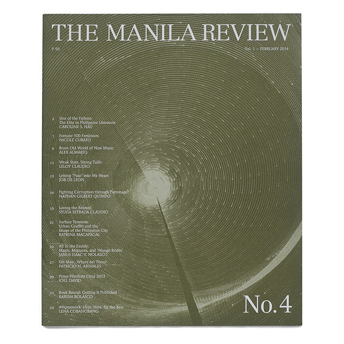 The Manila Review Vol. 1 Issue 4
