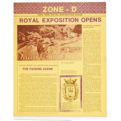 Zone - D: 1894-1896 Royal Exposition Issue