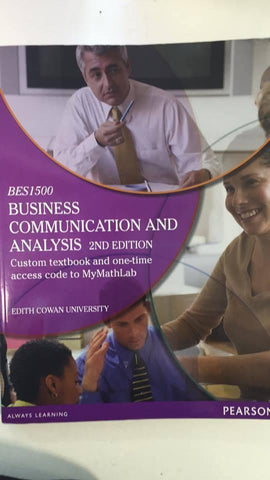 Business Communication and Analysis (BES1500) 2nd Edition