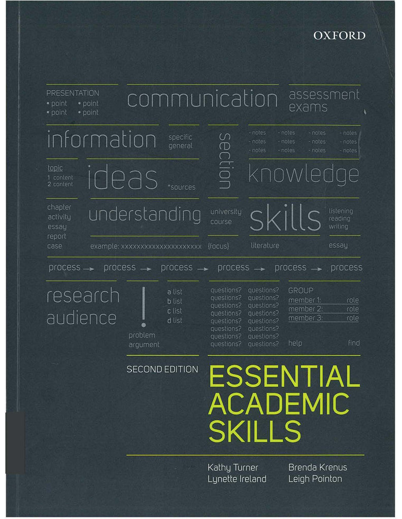 Essential Academic Skills 2nd Edition