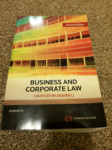 Business & Corporate Law 2nd Edition