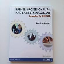 Business Professionalism and Career Management: Compiled for BES2500