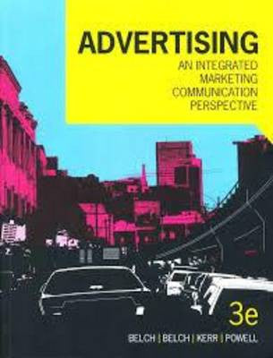 Advertising: An integrated marketing communication perspective