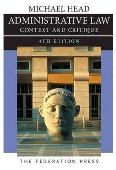 Administrative Law: Context and Critique 4th Edition