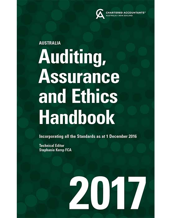 Auditing, Assurance and Ethics Handbook 2017
