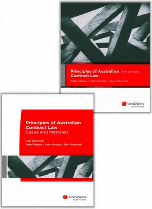 (Val)Principles of Australian Contract Law 4e + Cases and Materials