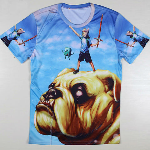 Adventure Time Printed Casual Shirt 04