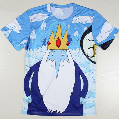 Adventure Time Printed Casual Shirt 05