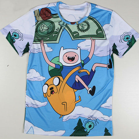 Adventure Time Printed Casual Shirt 06