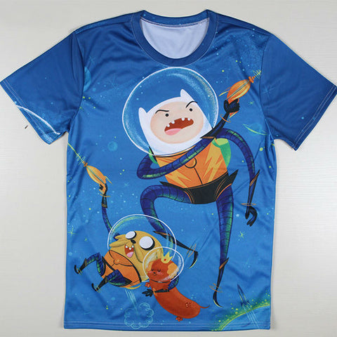 Adventure Time Printed Casual Shirt 07