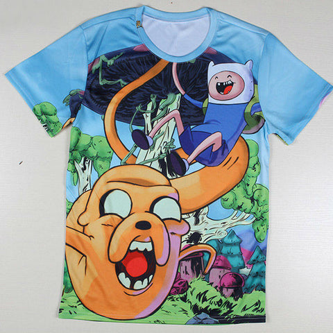 Adventure Time Printed Casual Shirt 08