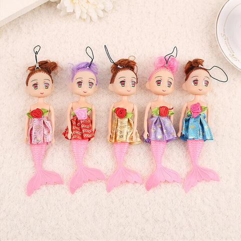 Cartoon Mermaid Doll Toy