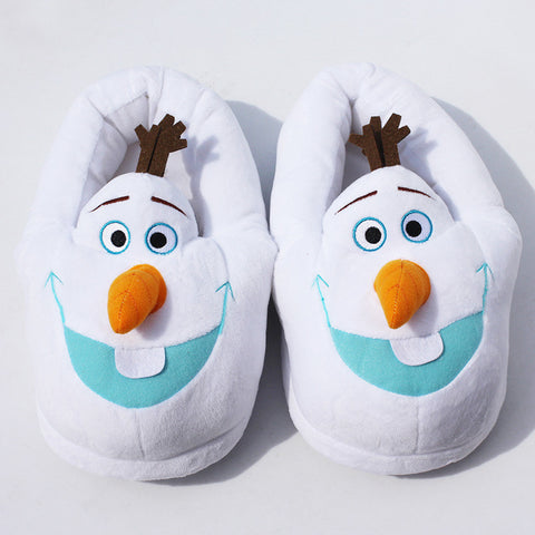 Frozen Olaf Plush Slipper