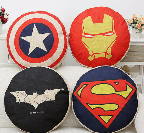 Marvel Avengers Round Cushion Pillow