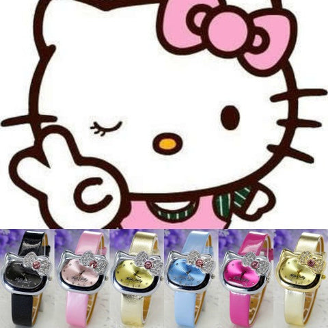 Hello Kitty Crystal Watch