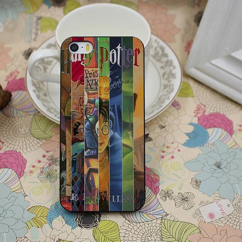 Harry Potter All Books Design iPhone Case