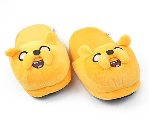 Adventure Time Jake the Dog Plush Slippers