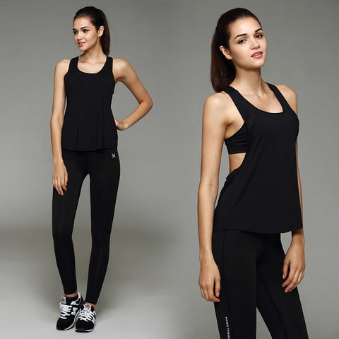 Sports Camiseta Sleeveless Vest Tops