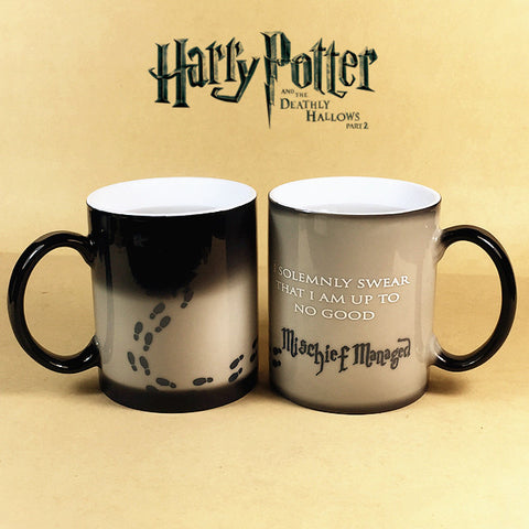 Harry Potter Mischief Managed Coffee Mug