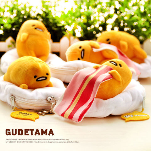 Gudetama Plush Mini Coin Purse