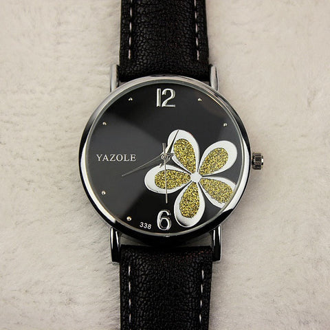Flower Quartz Watch Women