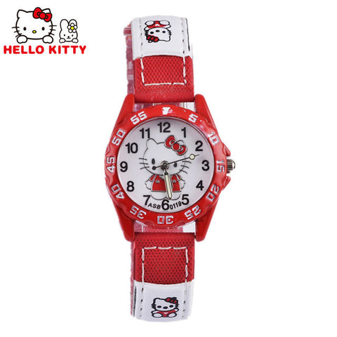 Hello Kitty Kids Analog Watch Leather