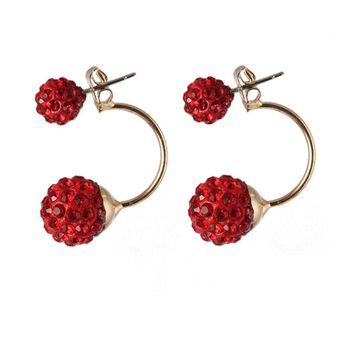 Full Perlas Stud Earring