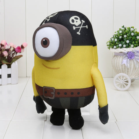 Minion Pirate Plush Doll