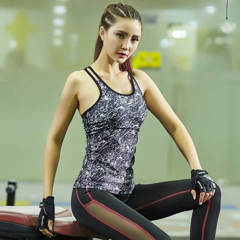 Sports Workout Vest Fitness Training Exercise Running Clothing Sportswear