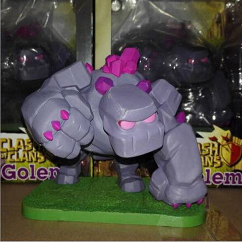Clash Of Clans Golem Action Figure