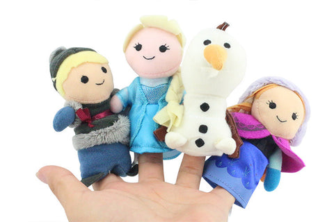 Frozen 4Pcs Finger Puppet