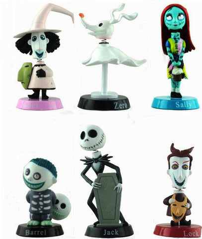 The Nightmare Before Christmas Action Figure Set
