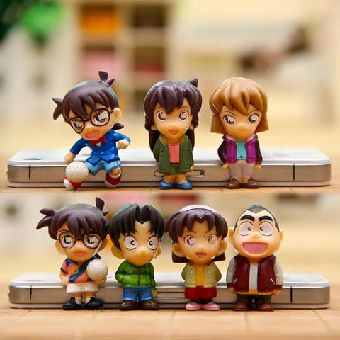 Conan Edogawa and Friends PVC Action Figure Toys