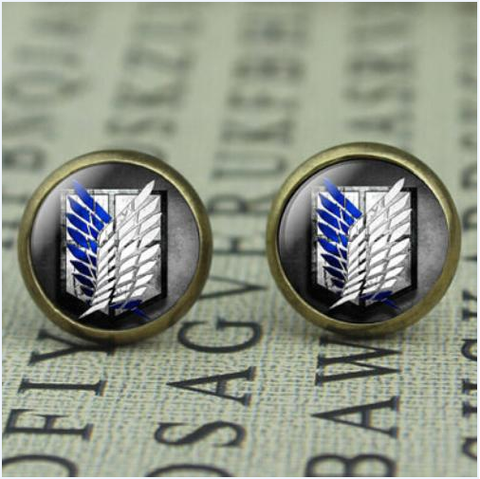 Attack on Titan Stud Earrings