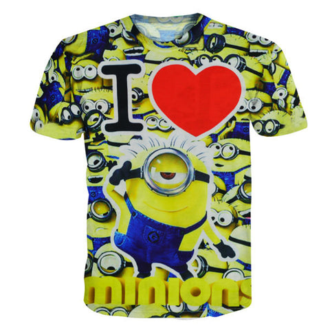 I Heart Minion Shirt