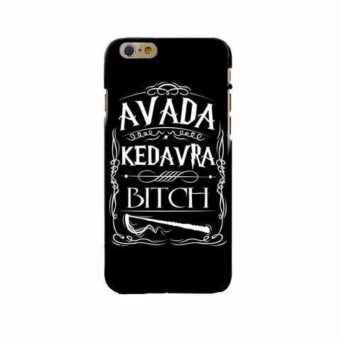 Avada Kedavra Bitch Harry Potter Spell Phone Case