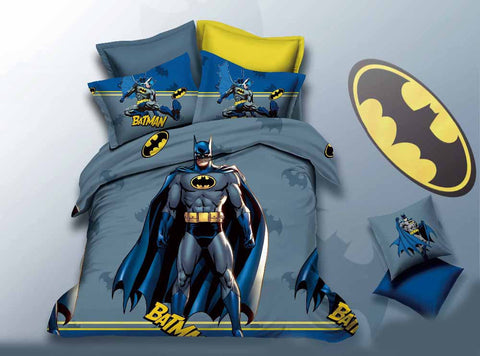 Batman Cartoon Bedding Set