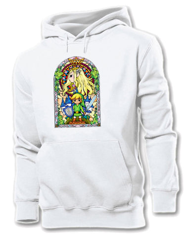 Legend of Zelda Stained Glass Hoodie