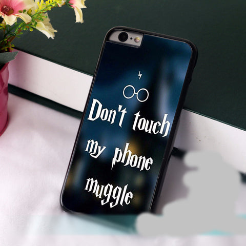 "Harry Potter ""Don't Touch my Phone Muggle"" Phone Case"