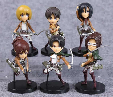 Attack on Titan Figures Toys
