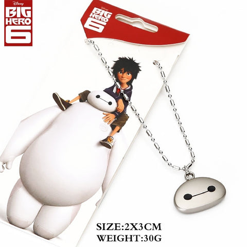Big Hero 6 Baymax Face Necklace